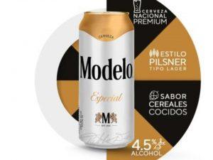 Cerveza Clara Modelo Especial  473 ml