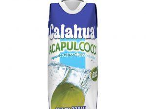 Agua de coco Calahua Acapulcoco 330 ml
