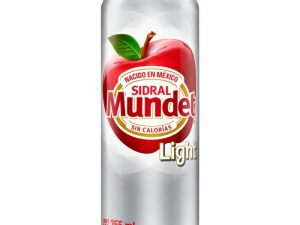 Refresco Sidral Mundet  Light sabor manzana 355 ml
