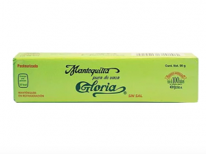 Mantequilla Gloria 90gr