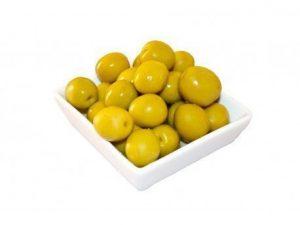 Aceituna Verde Aliñada con hueso por kilo